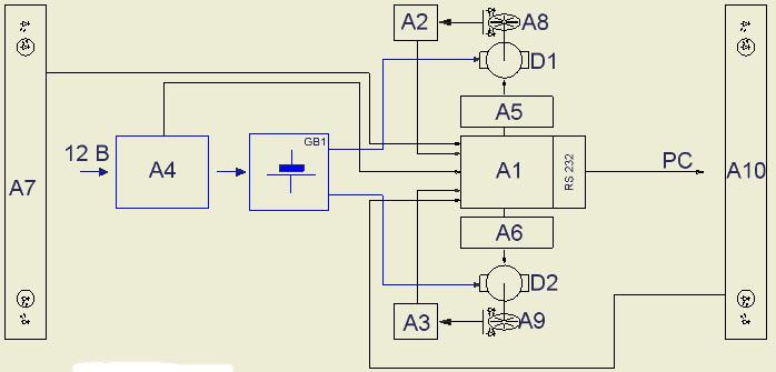 ...к зарядному устройству (ATtiny12V). блок зарядки аккумулятора. блок...